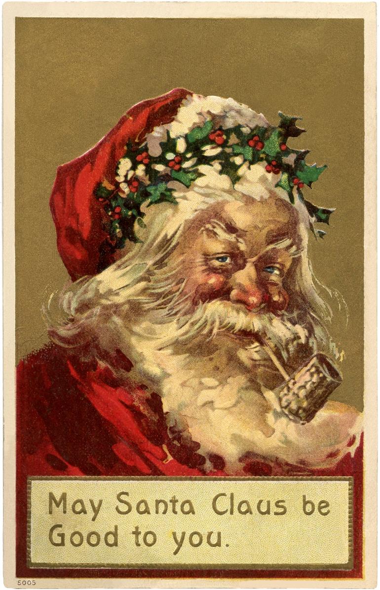 Old-World-Santa-Holly-Wreath-GraphicsFairy